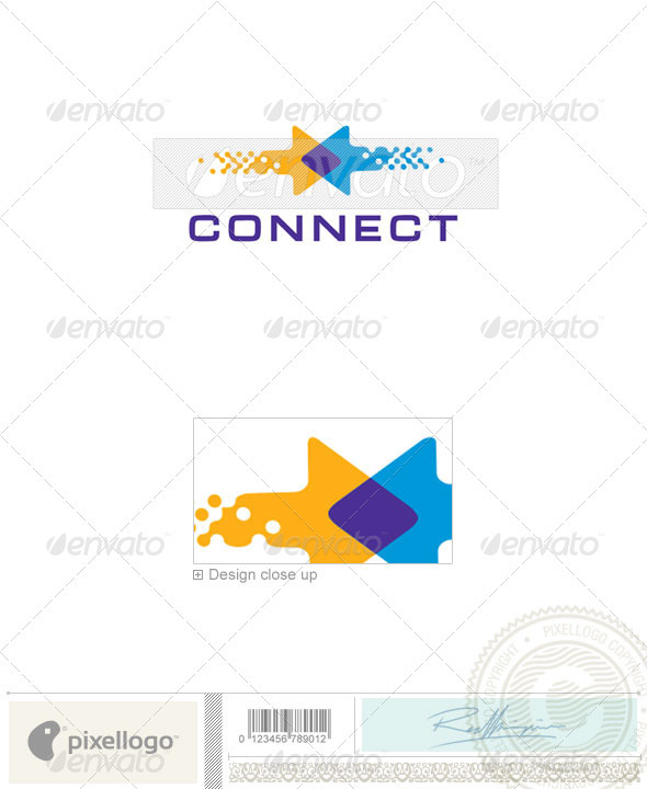 Communications Logo - 2299 - Symbols Logo Templates