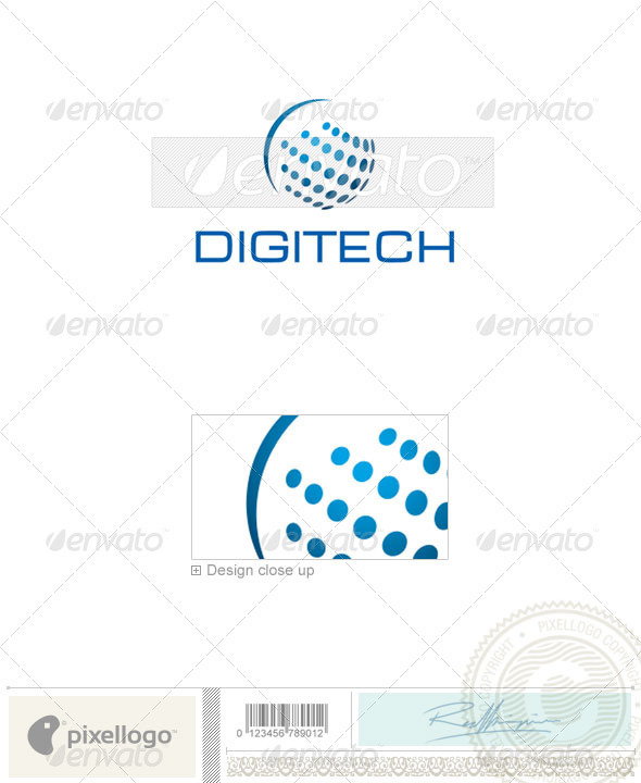 Communications Logo - 1777 - Vector Abstract