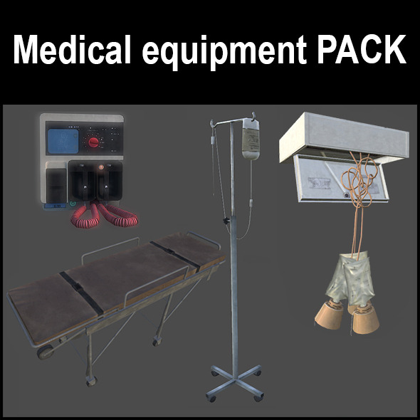 Medical equipment - 3DOcean Item for Sale