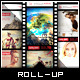 Ultimate Movie and Photography- Roll-Up Banner - GraphicRiver Item for Sale