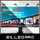 Retro Cinema/Theater Billboard - GraphicRiver Item for Sale