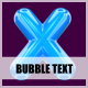 3D Bubble Text - GraphicRiver Item for Sale