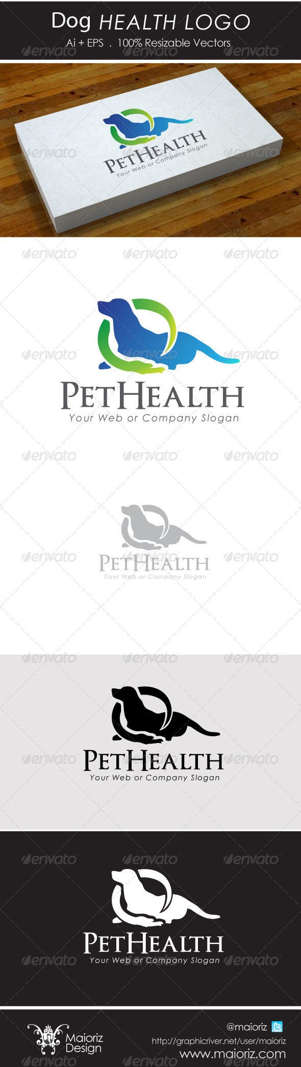 Dog Health Logo - Animals Logo Templates
