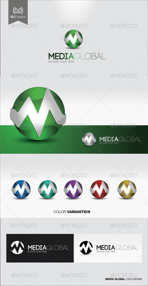 M 3d Logo M Tech 3D Logo by mjcr...