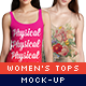Women's Tops Mock-Up Pack - GraphicRiver Item for Sale