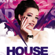 House Addicts Bash Flyer Template - GraphicRiver Item for Sale
