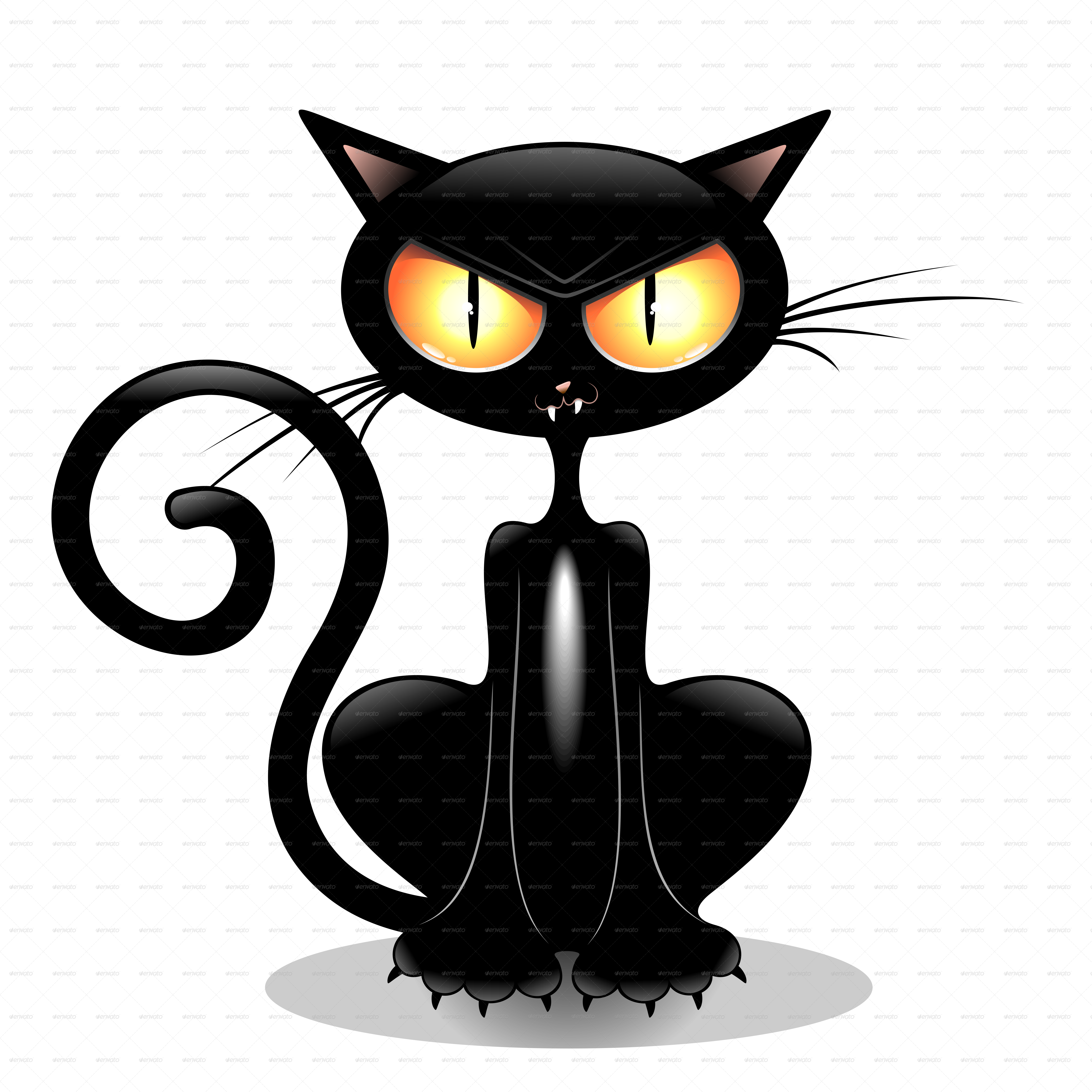 angry black cat cartoon by bluedarkat graphicriver rh graphicriver net angry cat animated gif angry cat cartoon drawing