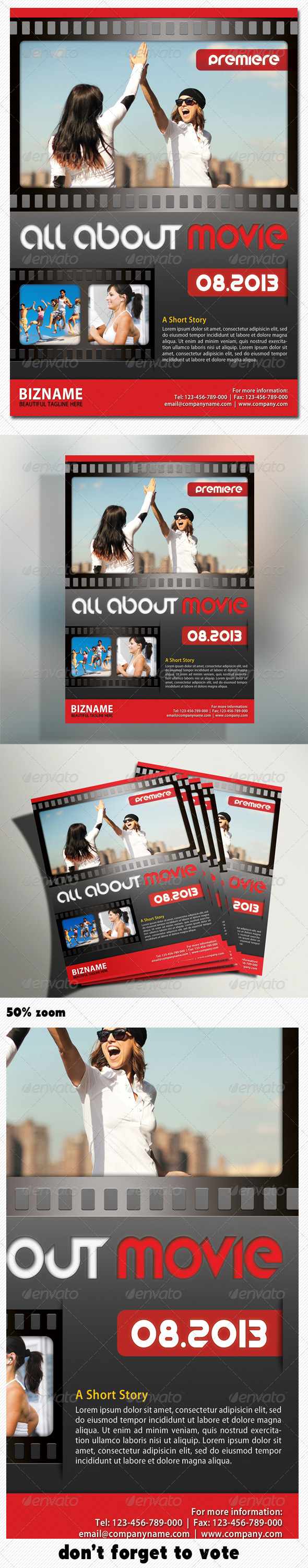Corporate Product Flyer 04 - Corporate Flyers