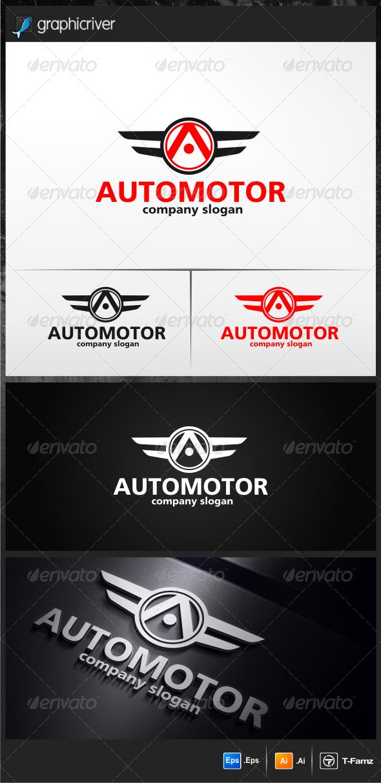 Automotor Logo Templates - Objects Logo Templates