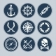 Sea Icon Set - GraphicRiver Item for Sale
