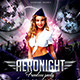 Aeronight Flyer Template - GraphicRiver Item for Sale