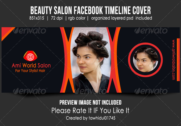 Beauty Salon Facebook Timeline Cover - Facebook Timeline Covers Social Media