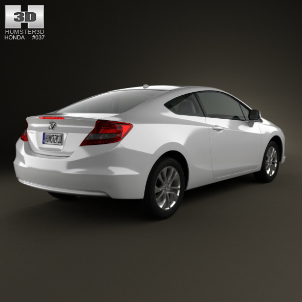 Honda Civic Coupe 2013   3DOcean Item For Sale.  Honda_Civic_coupe_2013_590_0001 ...