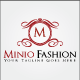 Minio Fashion Logo Template - GraphicRiver Item for Sale
