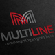 Multi Line Letter M Logo - GraphicRiver Item for Sale