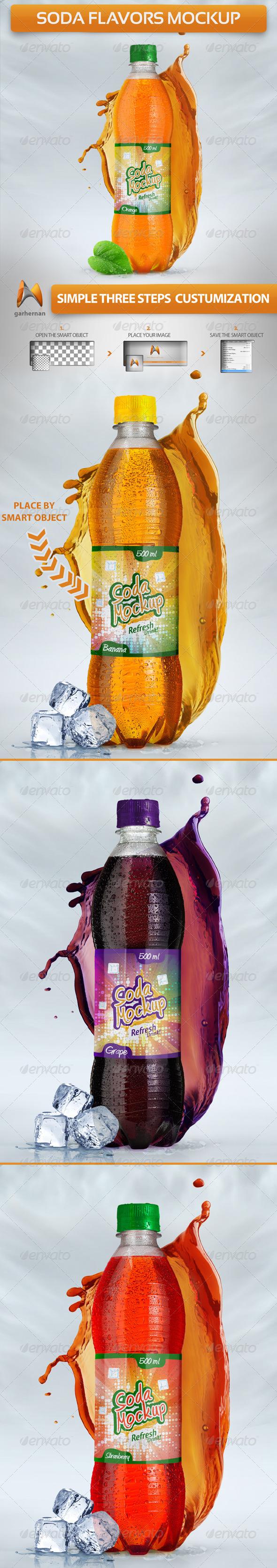 Soda Flavors Mock-Up