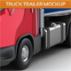 Truck Trailer Mock-Up - GraphicRiver Item for Sale