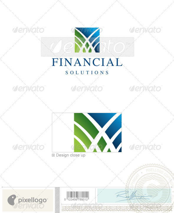 Finance Logo - 2252 - Nature Logo Templates
