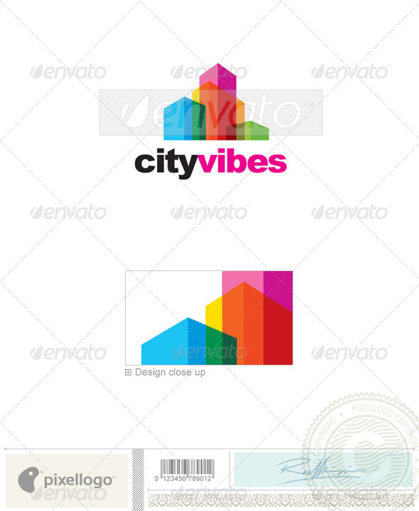 Real Estate Logo - 2257 - Buildings Logo Templates