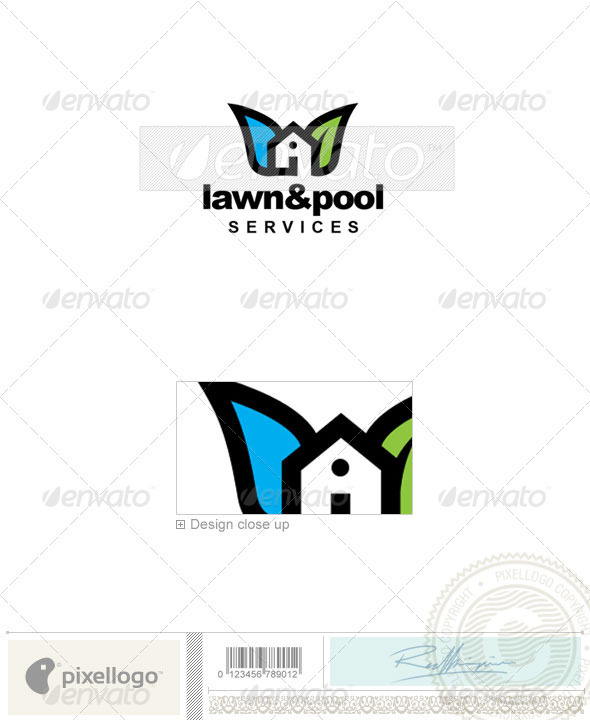 Gardening Logo - 2294 - Buildings Logo Templates