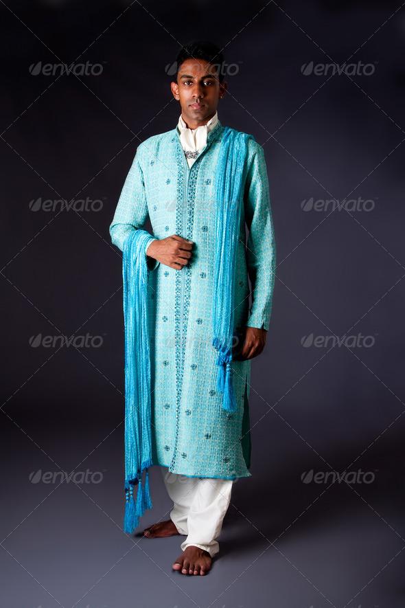 Hindu groom - Stock Photo - Images