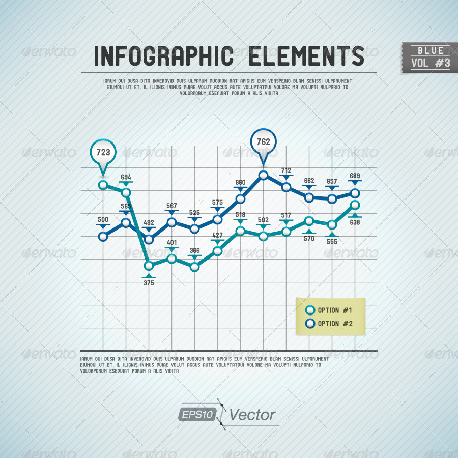 Infographic graph