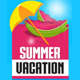 Summer Vacation Banner Set II - 12 Banners - GraphicRiver Item for Sale