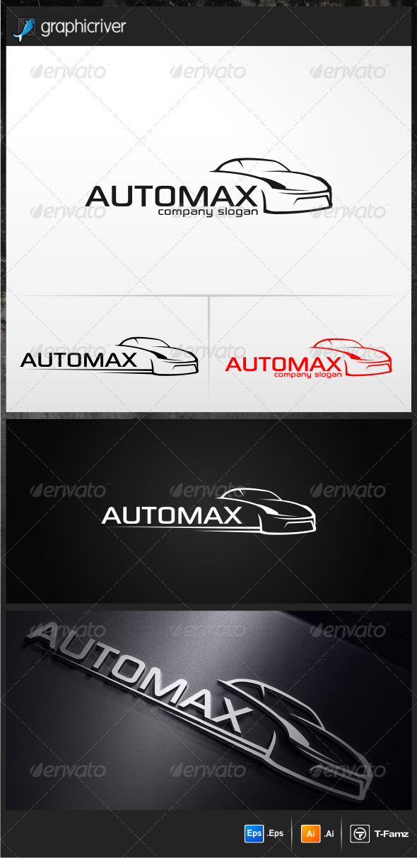 Automax Logo Templates - Objects Logo Templates