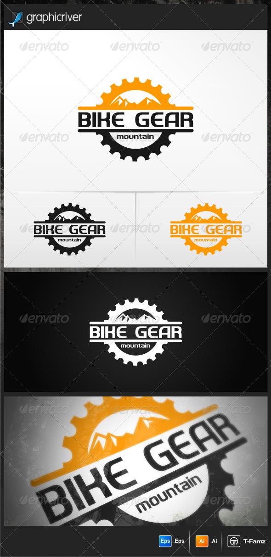 Bike Gear - Objects Logo Templates