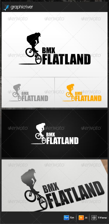 BMX Flatland Logo Templates - Objects Logo Templates