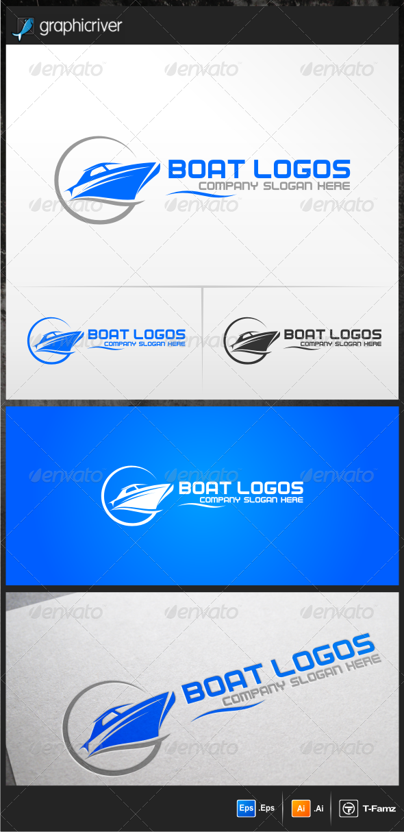 Boat Logo Templates - Objects Logo Templates