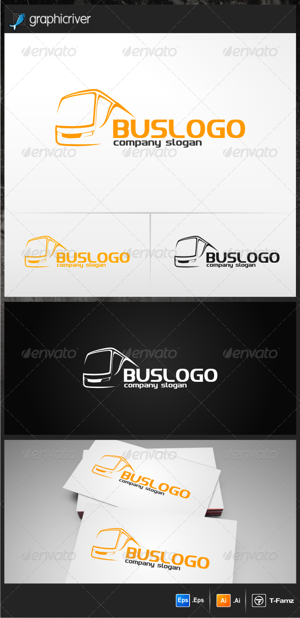 Bus Logo Templates - Objects Logo Templates
