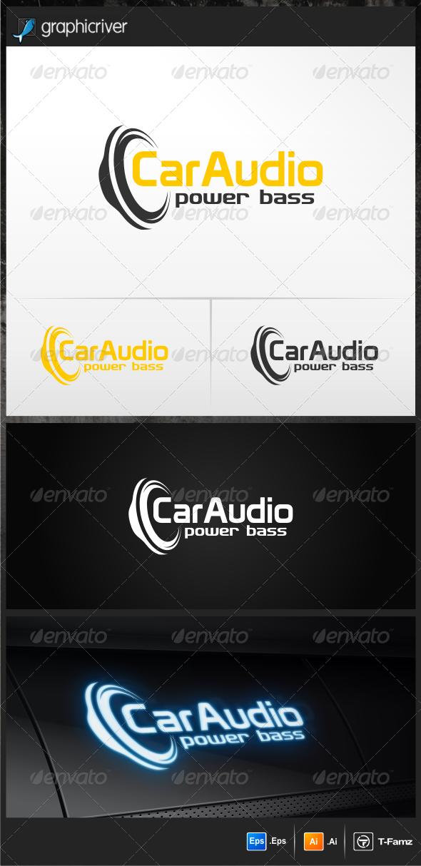 Car Audio Logo Templates - Objects Logo Templates