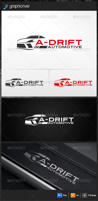 A-Drift Automotive - Objects Logo Templates