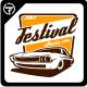 Festival Classic Car Logo Templates - GraphicRiver Item for Sale