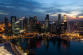 View of Singapore from Marina Bay Sands - PhotoDune Item for Sale