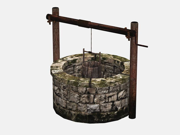 The Old Well - 3DOcean Item for Sale