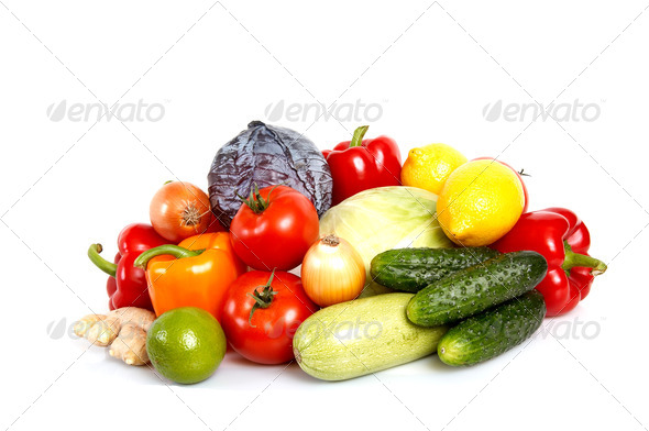 Fresh vegetables. - Stock Photo - Images
