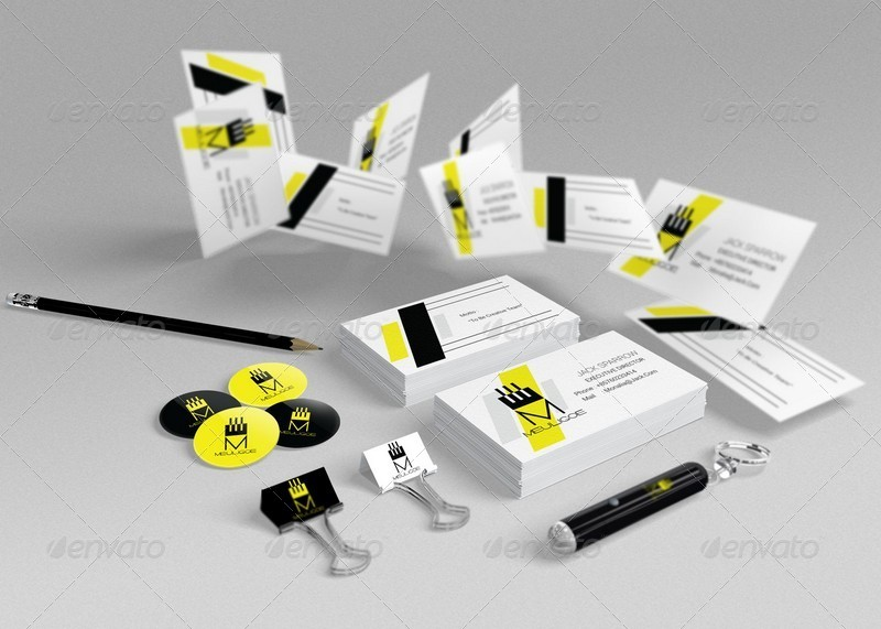 branding stationery mockups by kongkow graphicriver