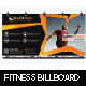 Billboard Fitness - GraphicRiver Item for Sale