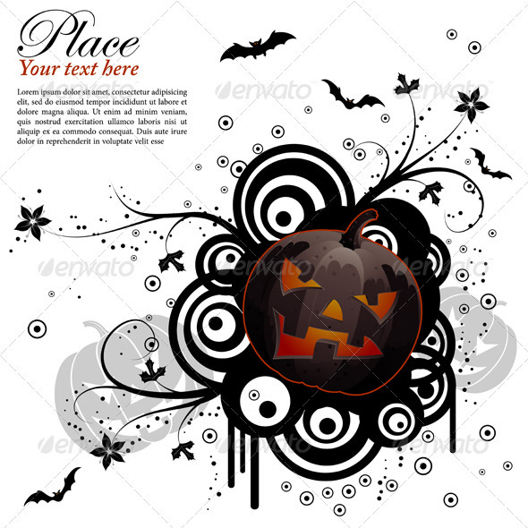 Abstract Halloween Background - Halloween Seasons/Holidays