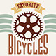 Vintage Bicycle Labels - GraphicRiver Item for Sale