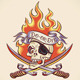 Skull of Pirate Tattoo Design - GraphicRiver Item for Sale