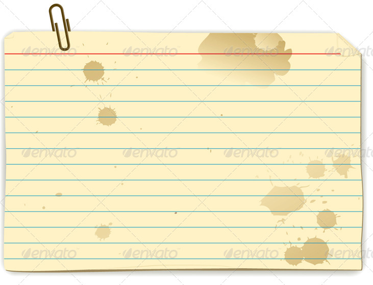 Recipe index cards by freetransform graphicriver for Index card template for pages