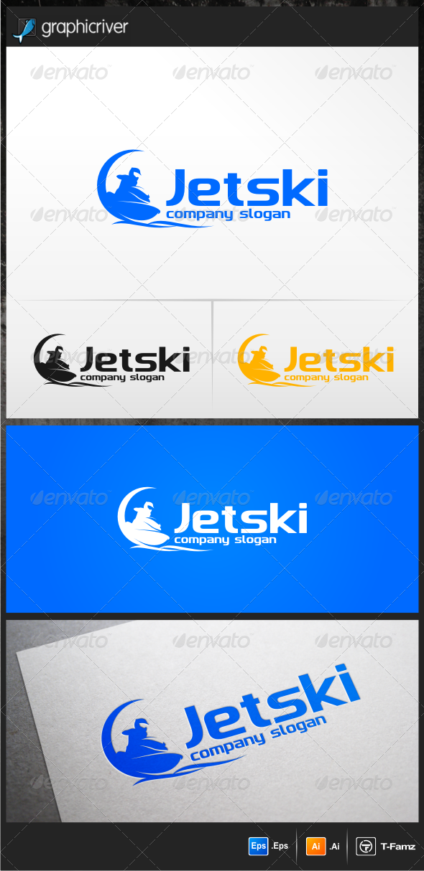 Jetski Logo Templates - Objects Logo Templates