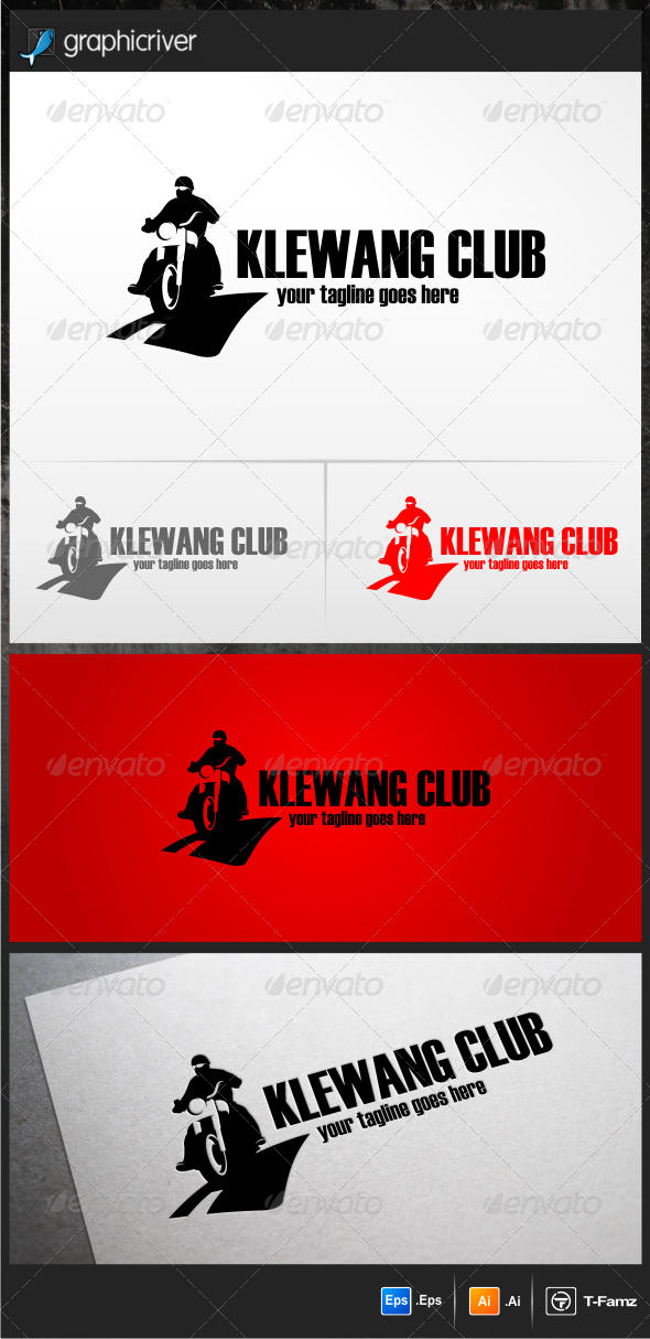 Klewang Club Logo Templates - Objects Logo Templates