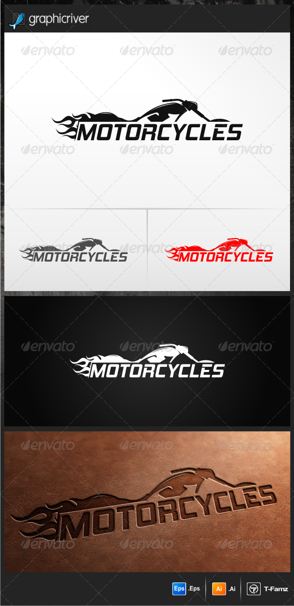 Motorcycles Logo Templates - Objects Logo Templates