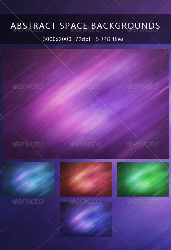Abstract space backgrounds - Abstract Backgrounds