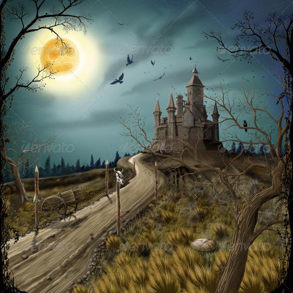 Fairytale Castle - Scenes Illustrations