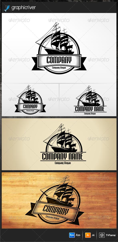 Sailing Ship Logo Templates - Objects Logo Templates